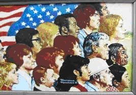 insert picture WordPress WE THE PEOPLE Norman Rockwell
